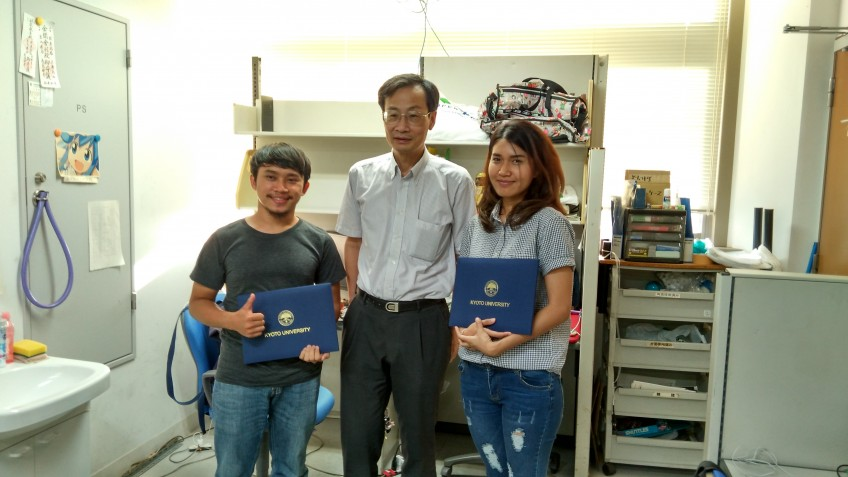 Internship Students from KMITL for ASEAN Young Researchers Training Program